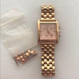 Michals Kors Rose Gold Watch